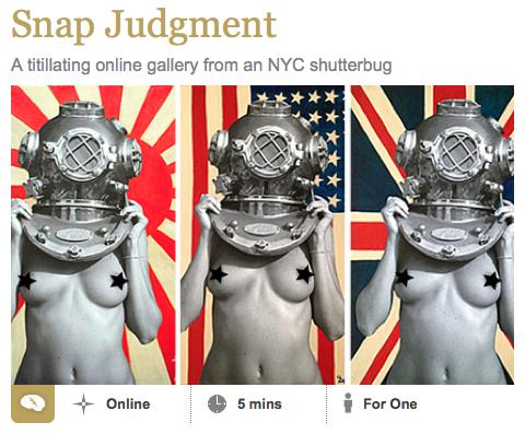 On InsideHook.com today  http://www.insidehook.com/new-york/spinelli-galleries-nyc/