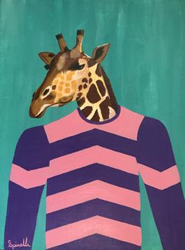 Victor Spinelli-Jockey Series-Giraffe-Art-Contemporary Art.jpg