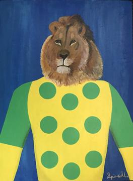 Victor Spinelli-Jockey Series-Lion-Art-Contemporary Art.jpg