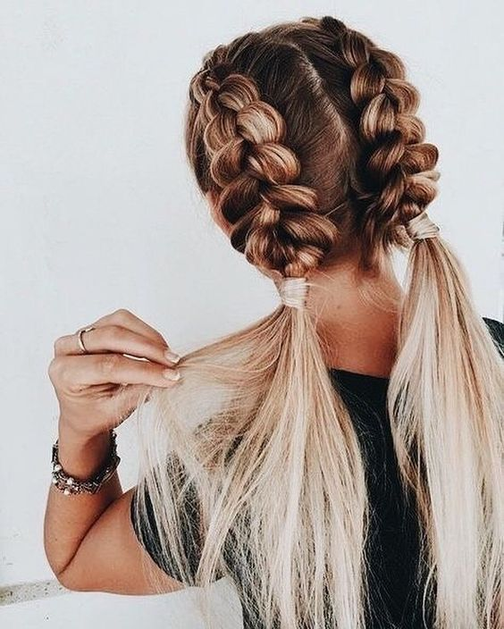 the good girl braids - Source: Pinterest