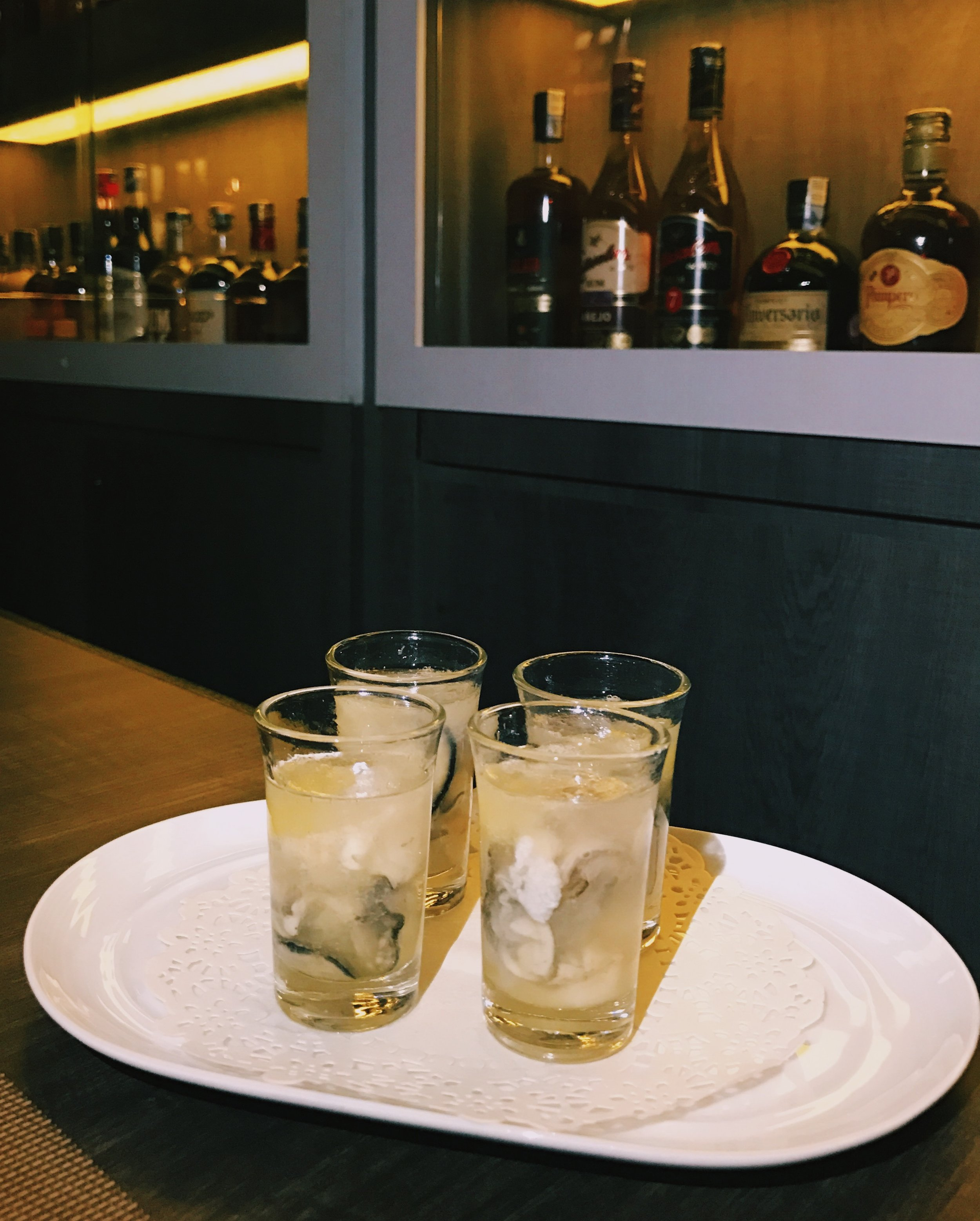 Rum Oyster Shots - RM28