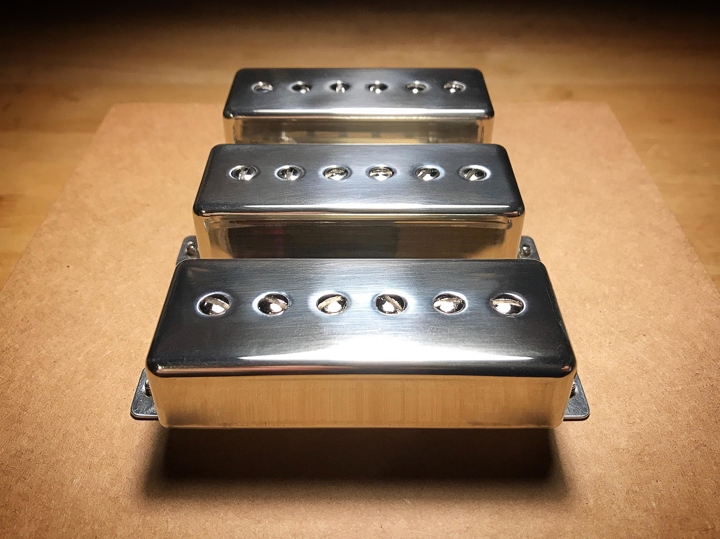 P90-Mini Triple Set · Polished Nickel