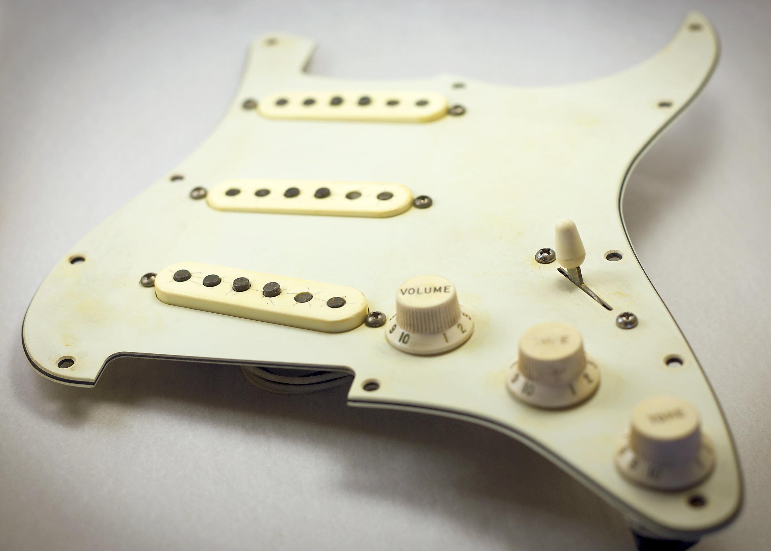 '62-SC · Aged Pickguard