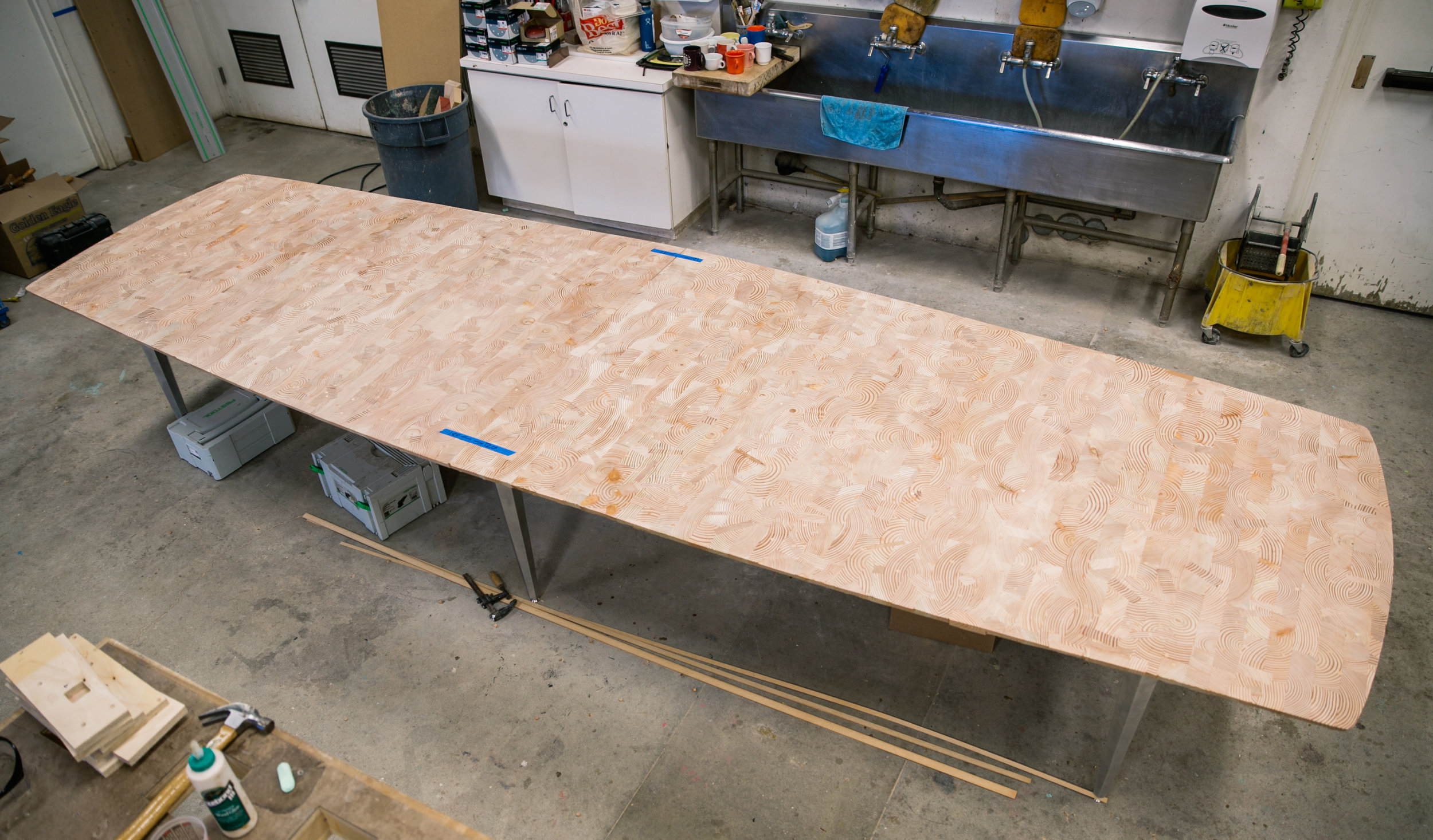conference tables scrap douglas fir from joists.jpg