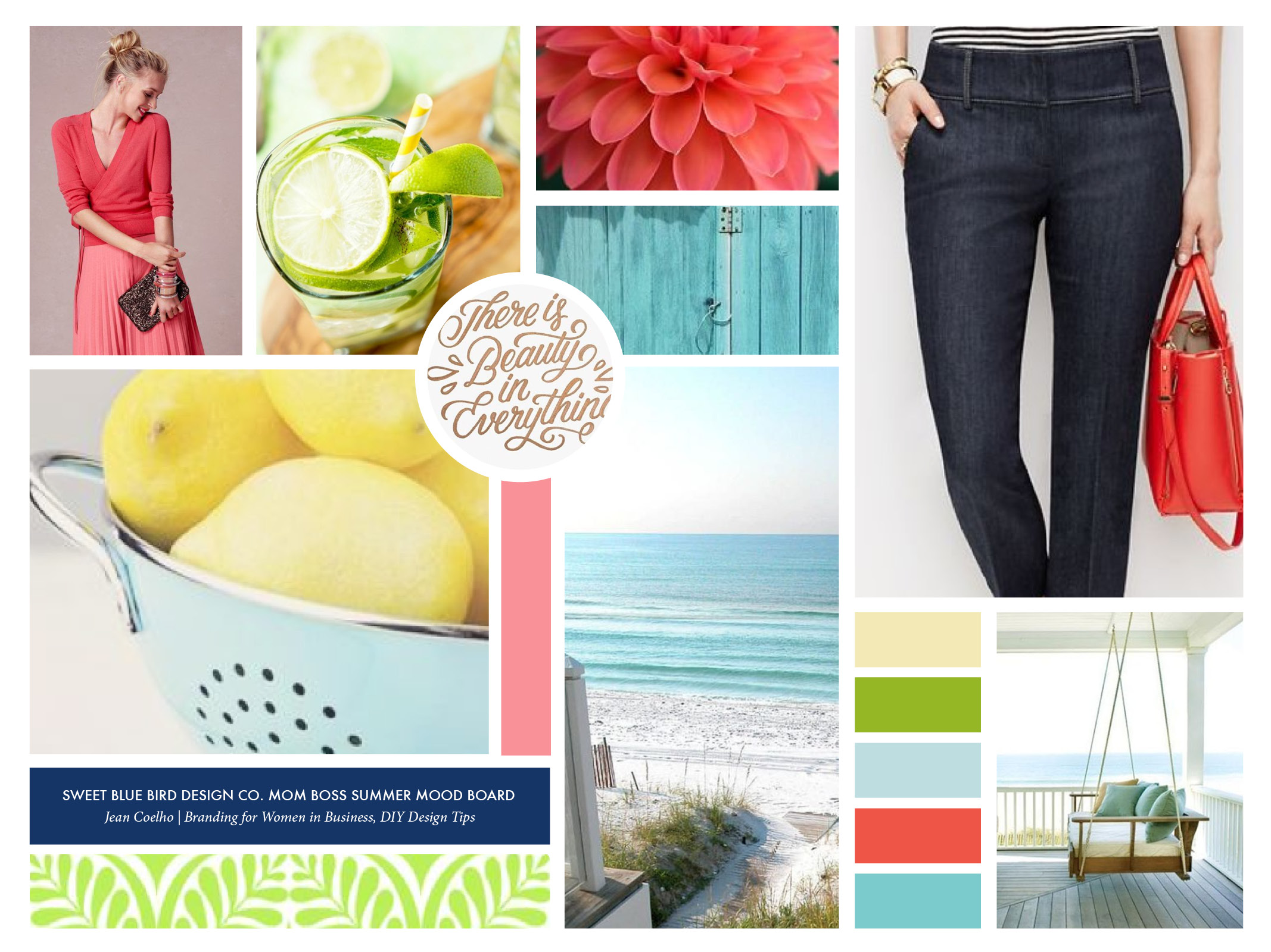 Summer Mood Board for Mom Bosses | 2016