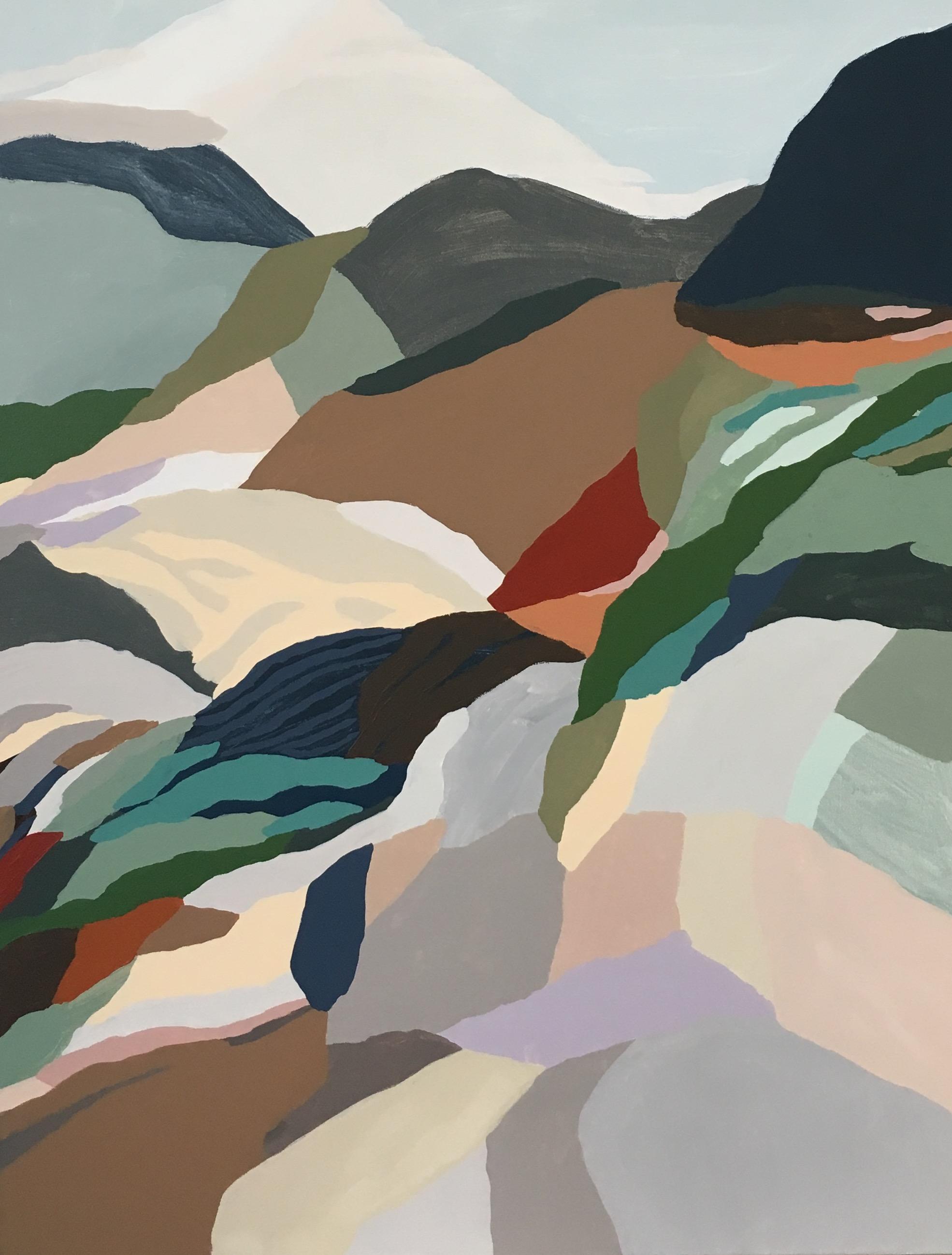 Bush Trails, acrylic on canvas, 2018
