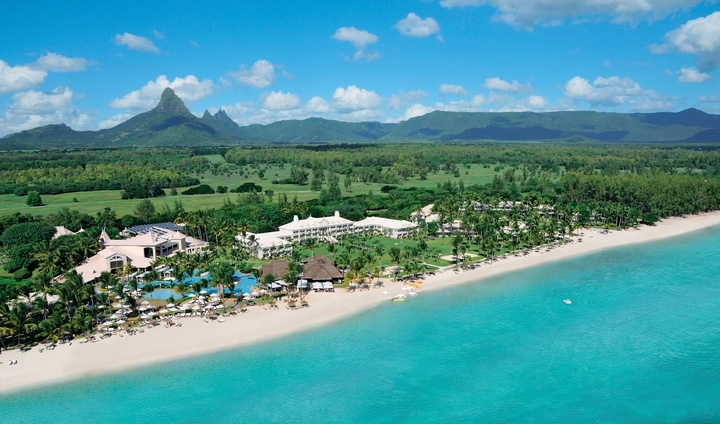 SUGAR BEACH MAURITIUS  The day is made   Sugar Beach  is world-renowned resort located on the leeward west coast of Mauritius featuring luxury accommodation and a splendid Spa. A contemporary plantation-style property spread over more than 12 hectares of tastefully landscaped tropical gardens. Choose Sugar Beach to benefit from preferred green fees at the Ile aux Cerfs Golf Club.
