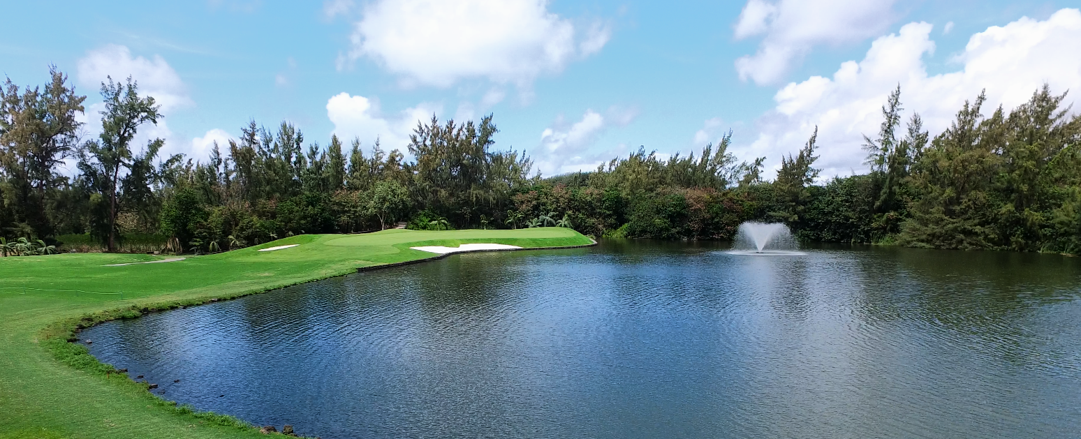 Designed by the two-time Masters champion  Bernhard Langer , the Ile aux Cerfs Golf Club is an 18-hole championship golf course reputed as one of the most beautiful and unique  island golf courses  in the world.