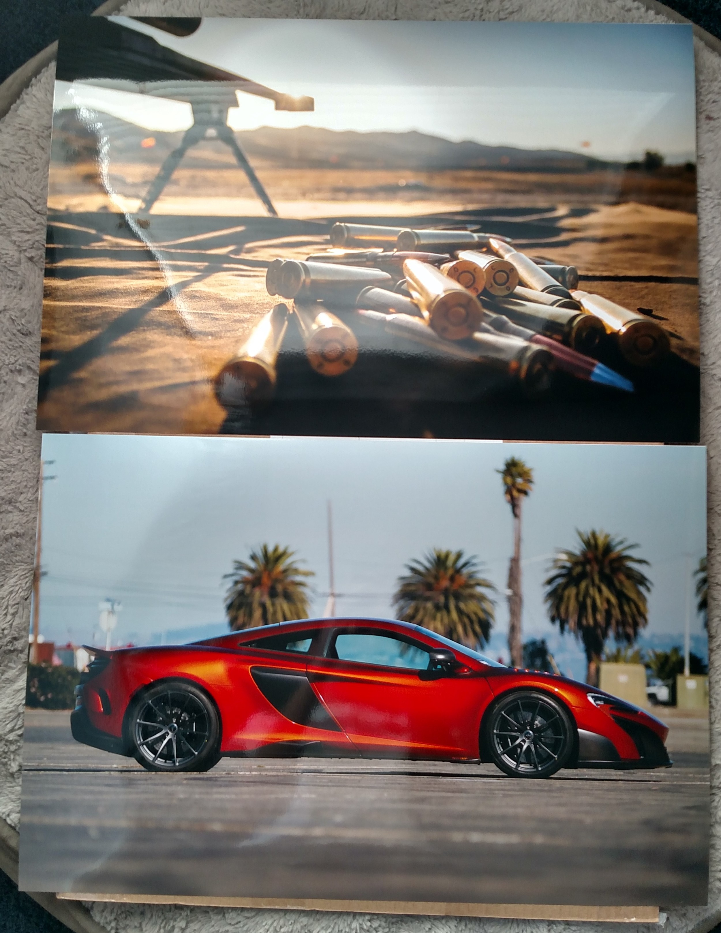 Here's two of my favorite photographs printed on high quality lab archival paper. They'll be around for generations so my future family can enjoy my work!