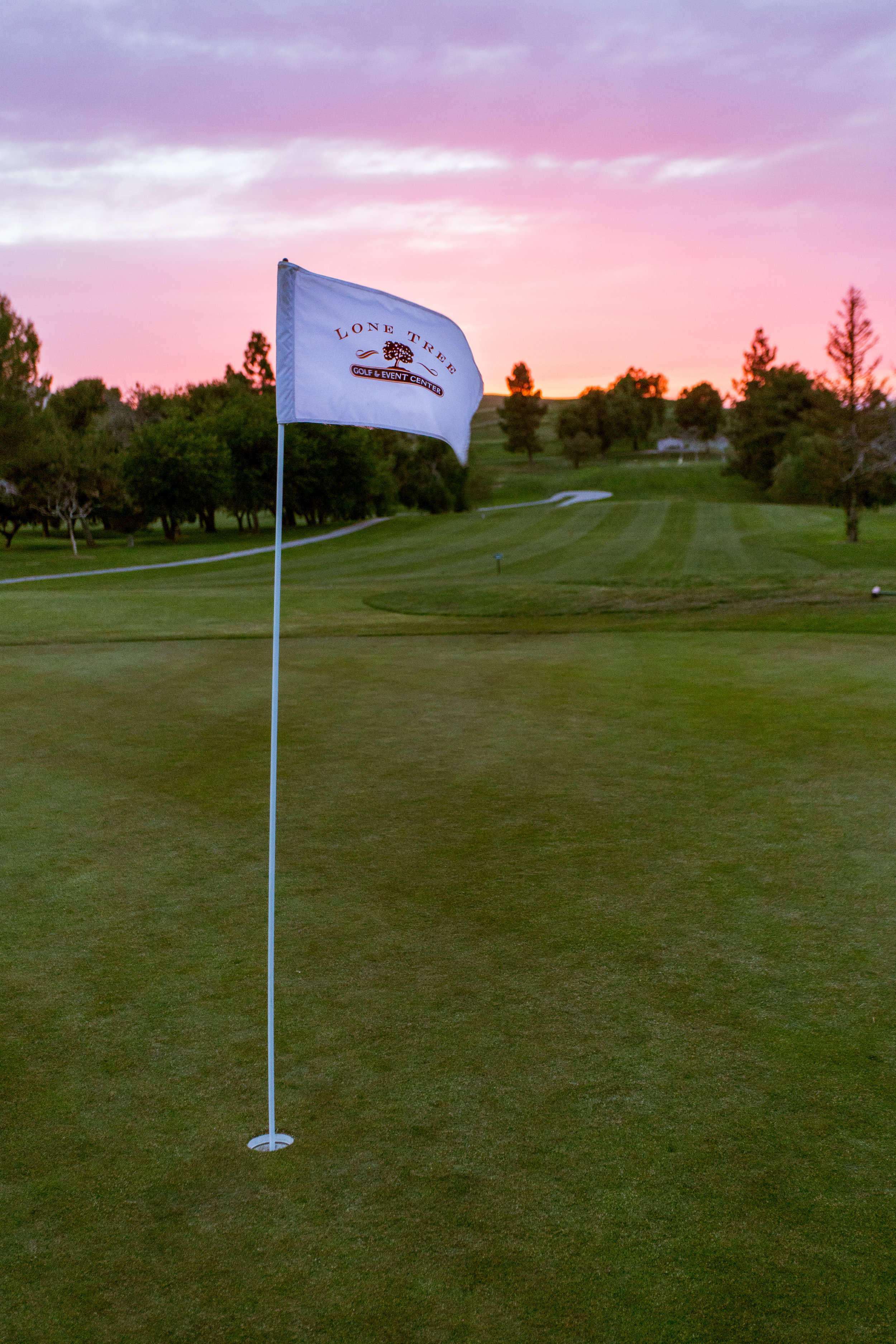 At Lone Tree Golf Course And Event Center facing West. Image taken on May 5th, 2017 at 8:11pm by Michael Pohl.