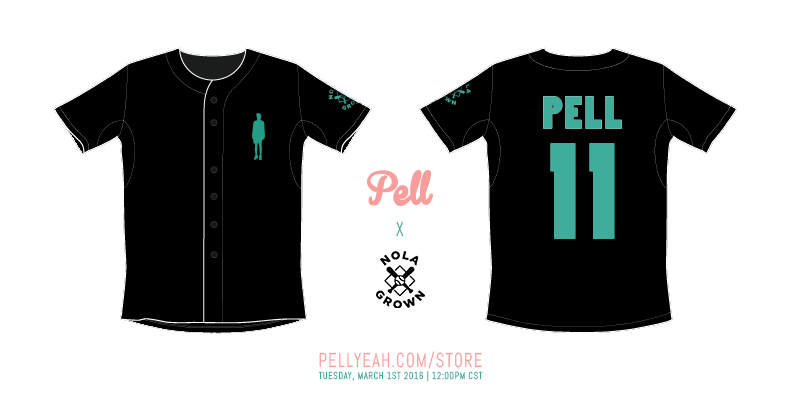 Pell x Nola Grown Collab Jersey