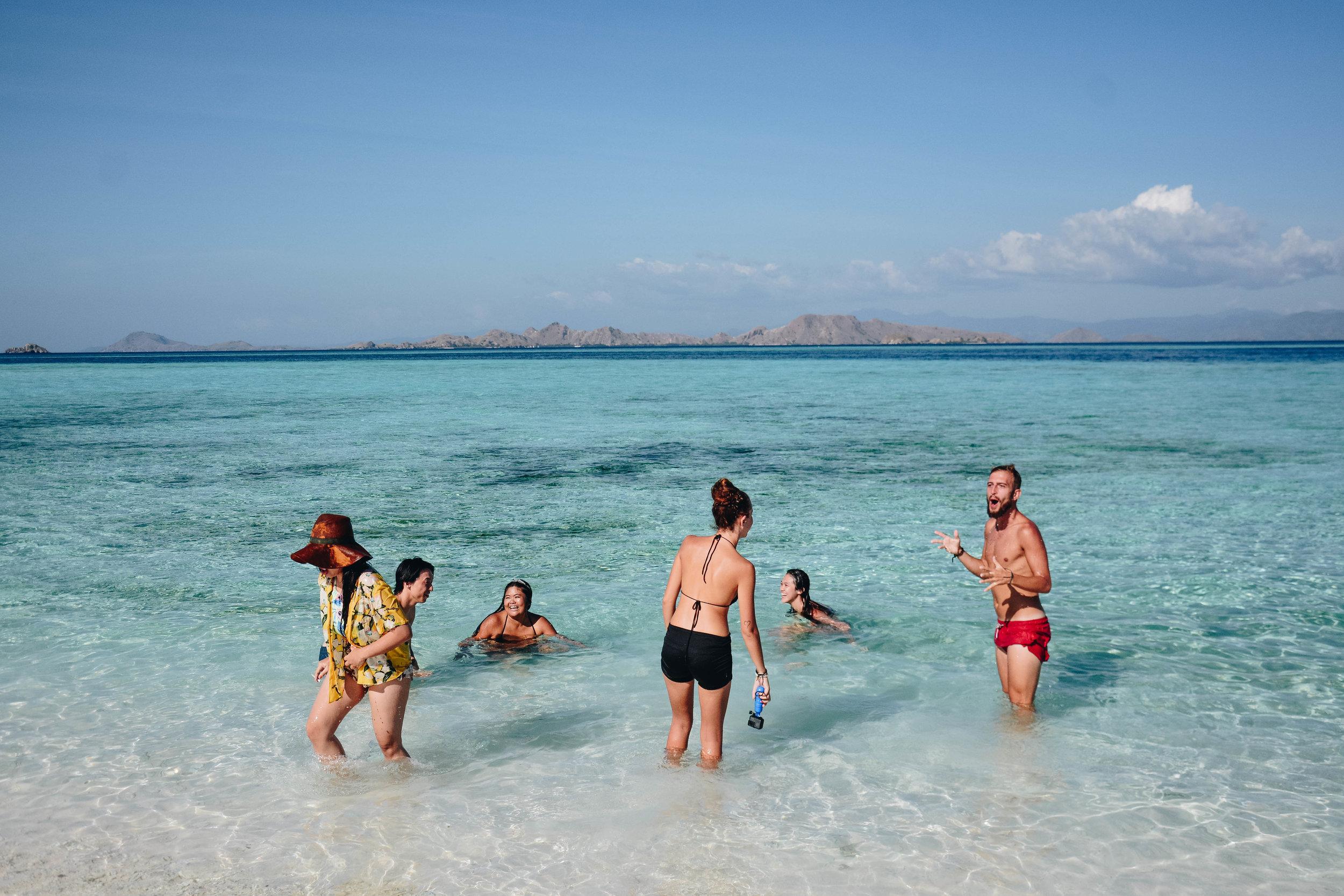 Manta Point, Open Trip Komodo Island