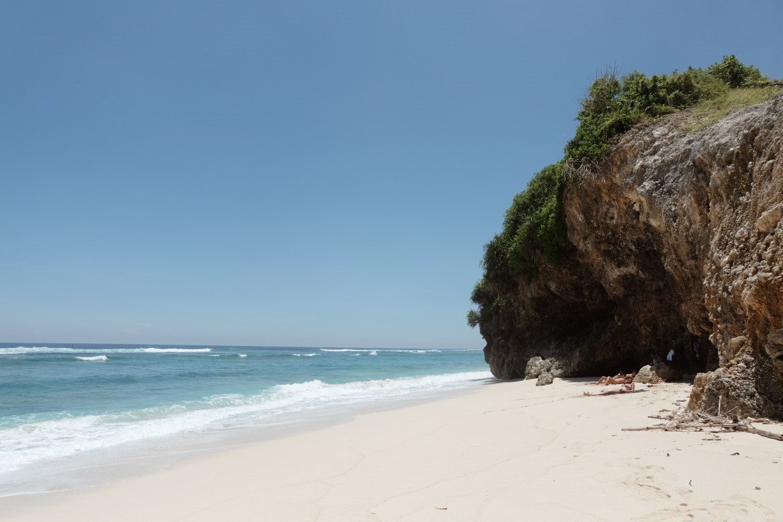 Melasti Beach, source: google