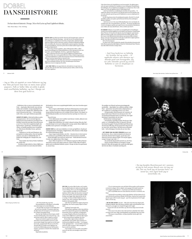 Faksimile av programmet til  En kveld med León og Lightfoot . Alle foto: Erik Berg