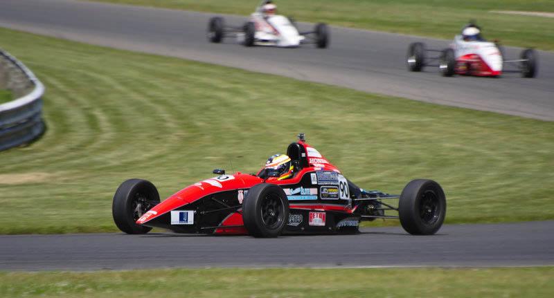 Aussie Scott Andrews at Circuit Mont-Tremblant in Canada