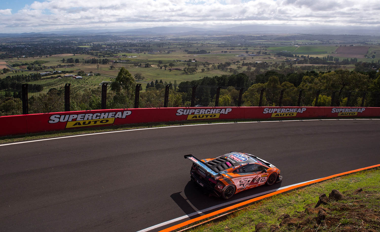 Scott Andrews' Performance West SP Tools Lamborghini Gallardo will start from 14th place on the grid in the 2016 Liqui Moly Bathurst 12 Hour race, after qualifying today. PIC BY: Daniel Kalisz