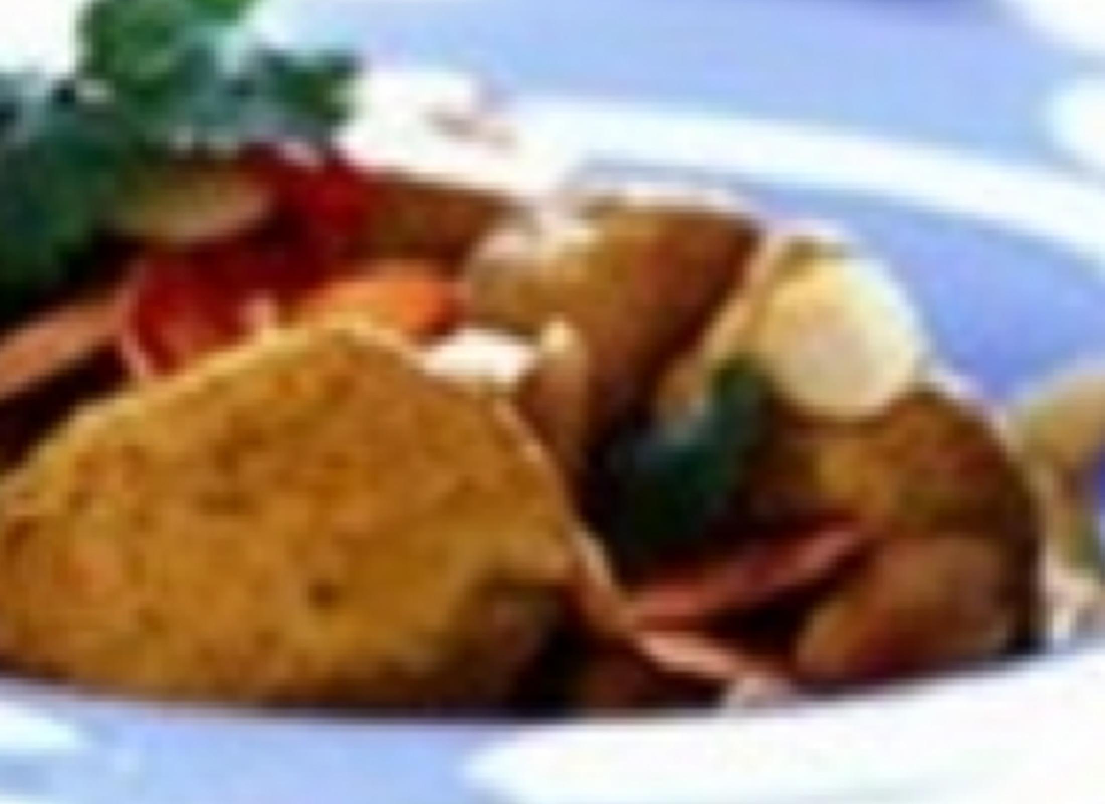 Διατροφικές Πληροφορίες   Ανά Μερίδα:  381 kcal  Πρωτεΐνες 47 γρ.  Υδατάνθρακες 8 γρ.