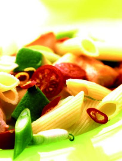 Διατροφικές πληροφορίες   Ανά μερίδα:  645 Kcal  Υδατάνθρακες 63.1  Φυτικές ίνες 5.4γρ.