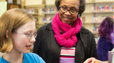 "Listen to the Town and Gown Podcast with Big Read Committee Member, Mae Ola Dunklin. ""I think reading is the key to success for almost anyone,"" she says.  Click here  to listen to the entire podcast."