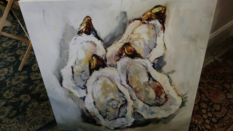 oyster shells!