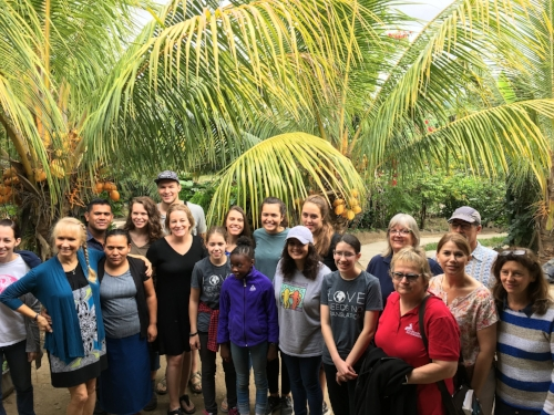 A team of 14 Americans came together with Nicaraguans to see what they could do to impact others and what happened is yet to be determined. But, it was defintely impactful.