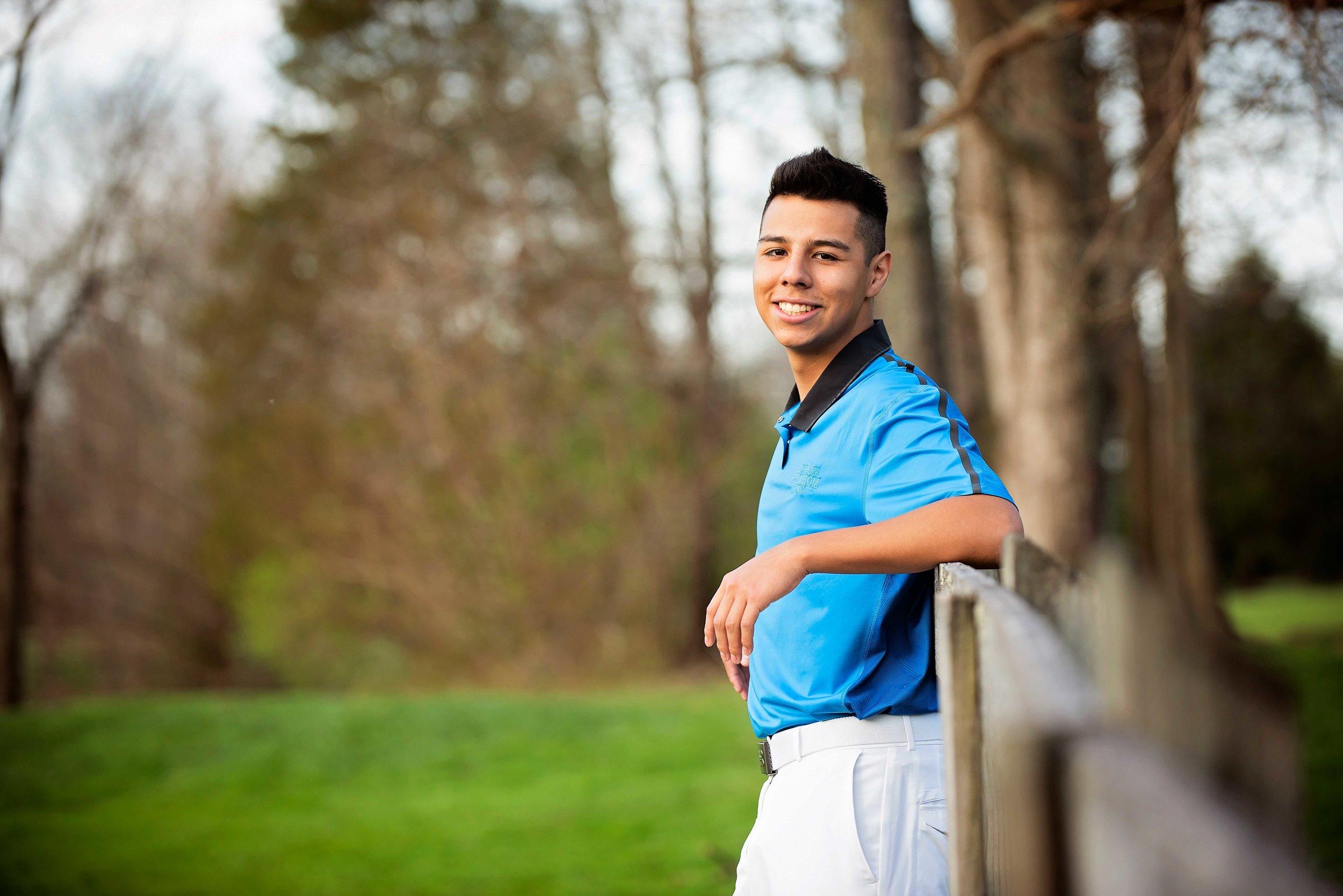 Senior High School Goal Player Leaning Against Fence Cincinnati Remember When Portraits Senior Photographer