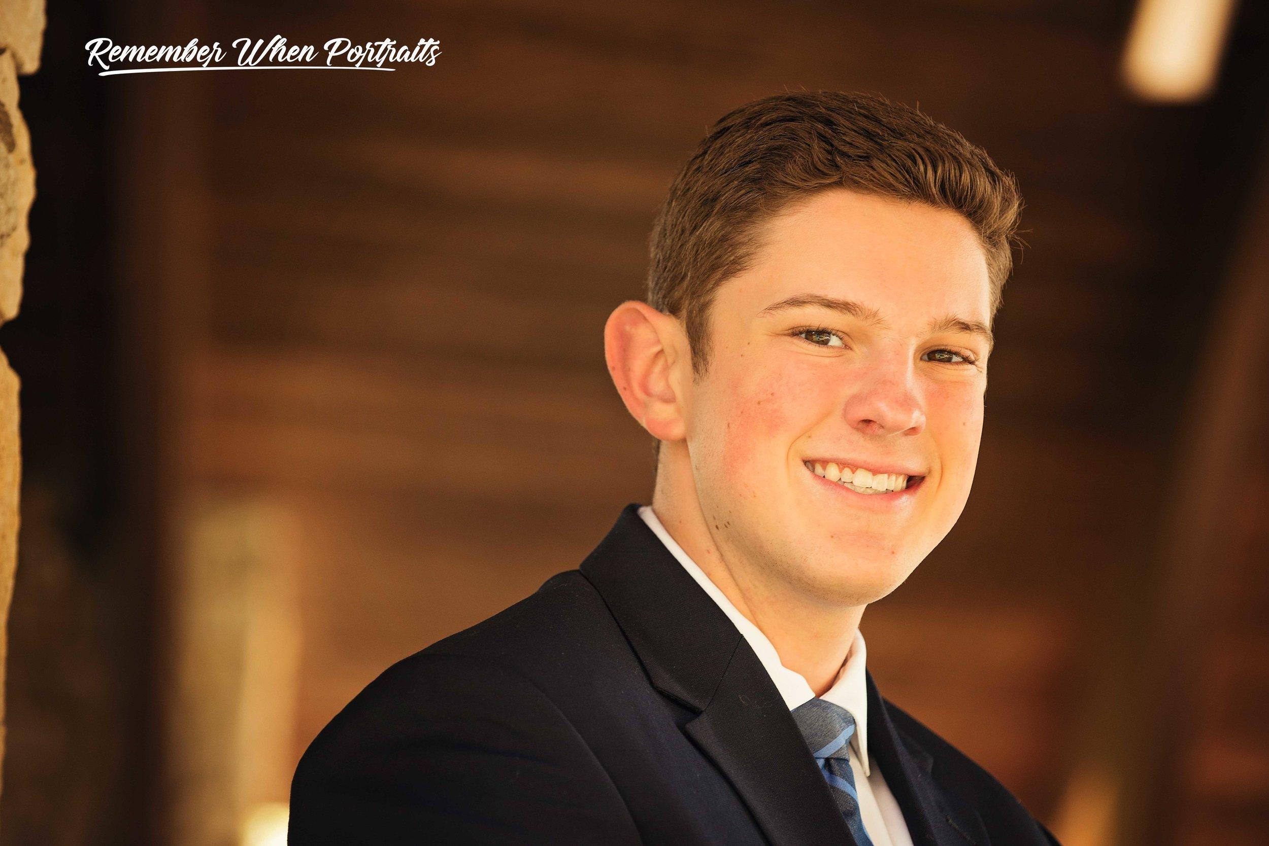 Ryan Highfield Little Miami High School Class of 2020 Remember When Portraits Cincinnati Ohio