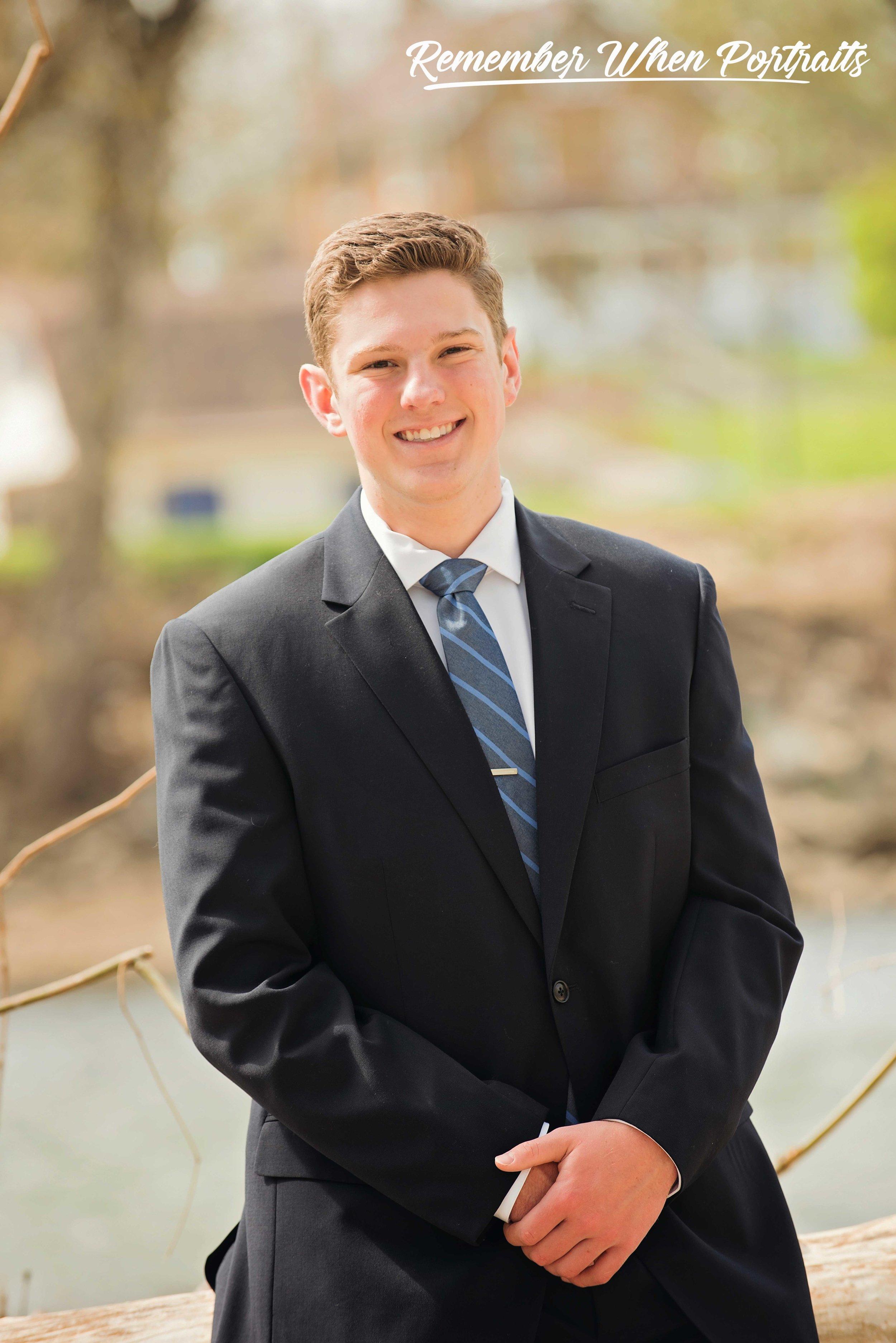 Ryan Highfield, Class of 202, Little Miami High School, Remember When Portraits Cincinnati Senior Photographer