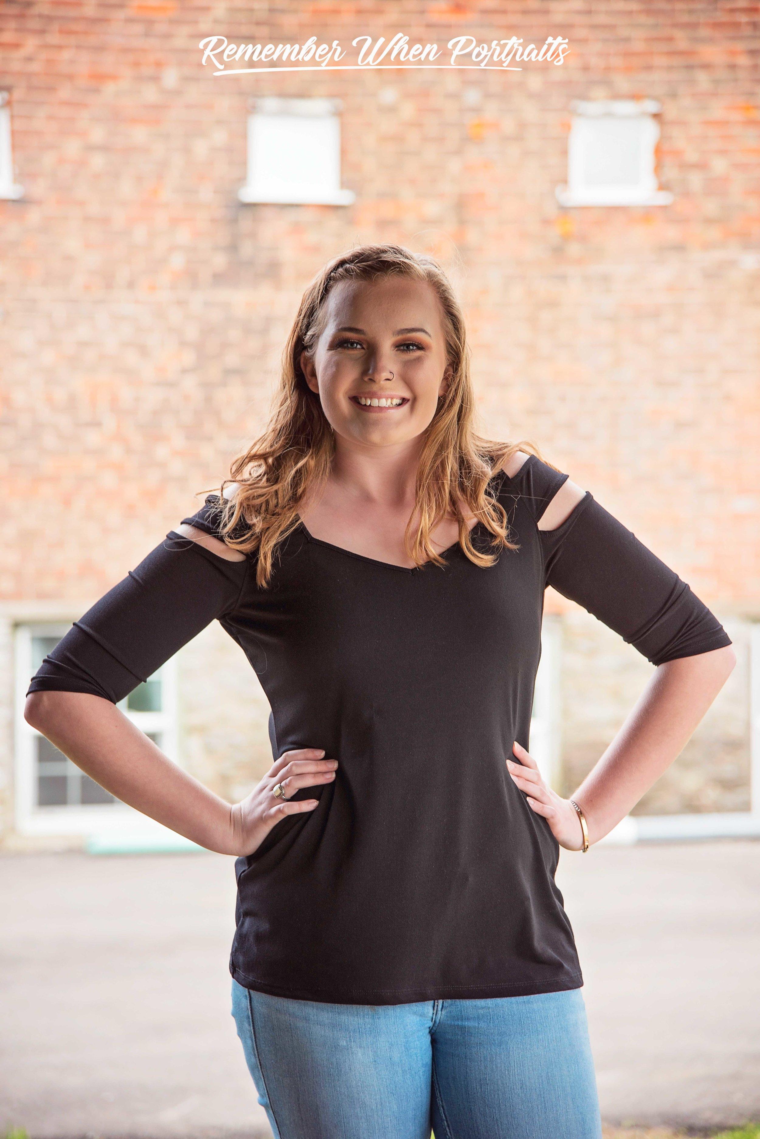 Mia Turner Class of 2020 Senior Pictures Remember When Portraits Hamilton High School Cincinnati Ohio