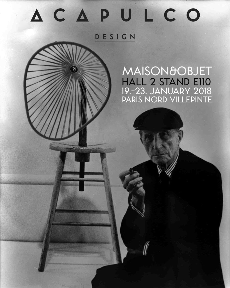 Acapulco Chair Marcel Duchamps