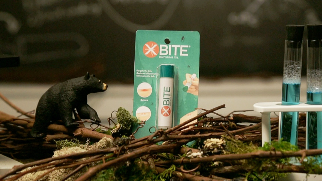 X-BITE - X Bite is a patented anti-itch innovation that uses a dual action process to cure your worst bug bites fast. First, an