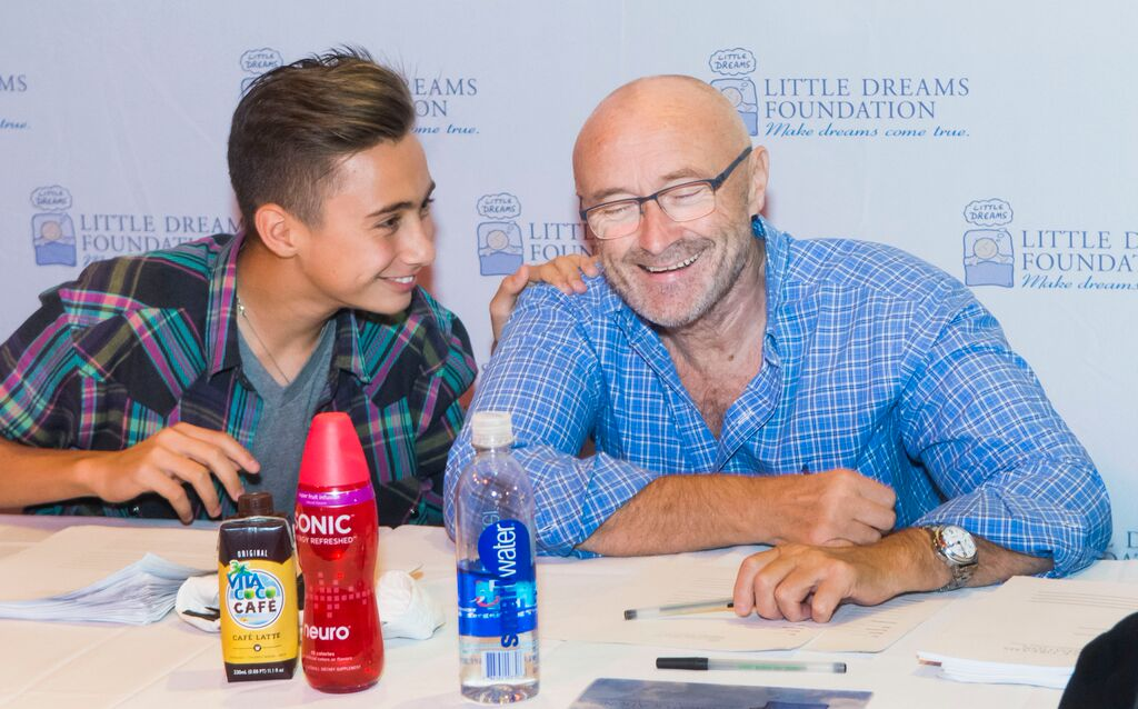 Nic and Phil Collins