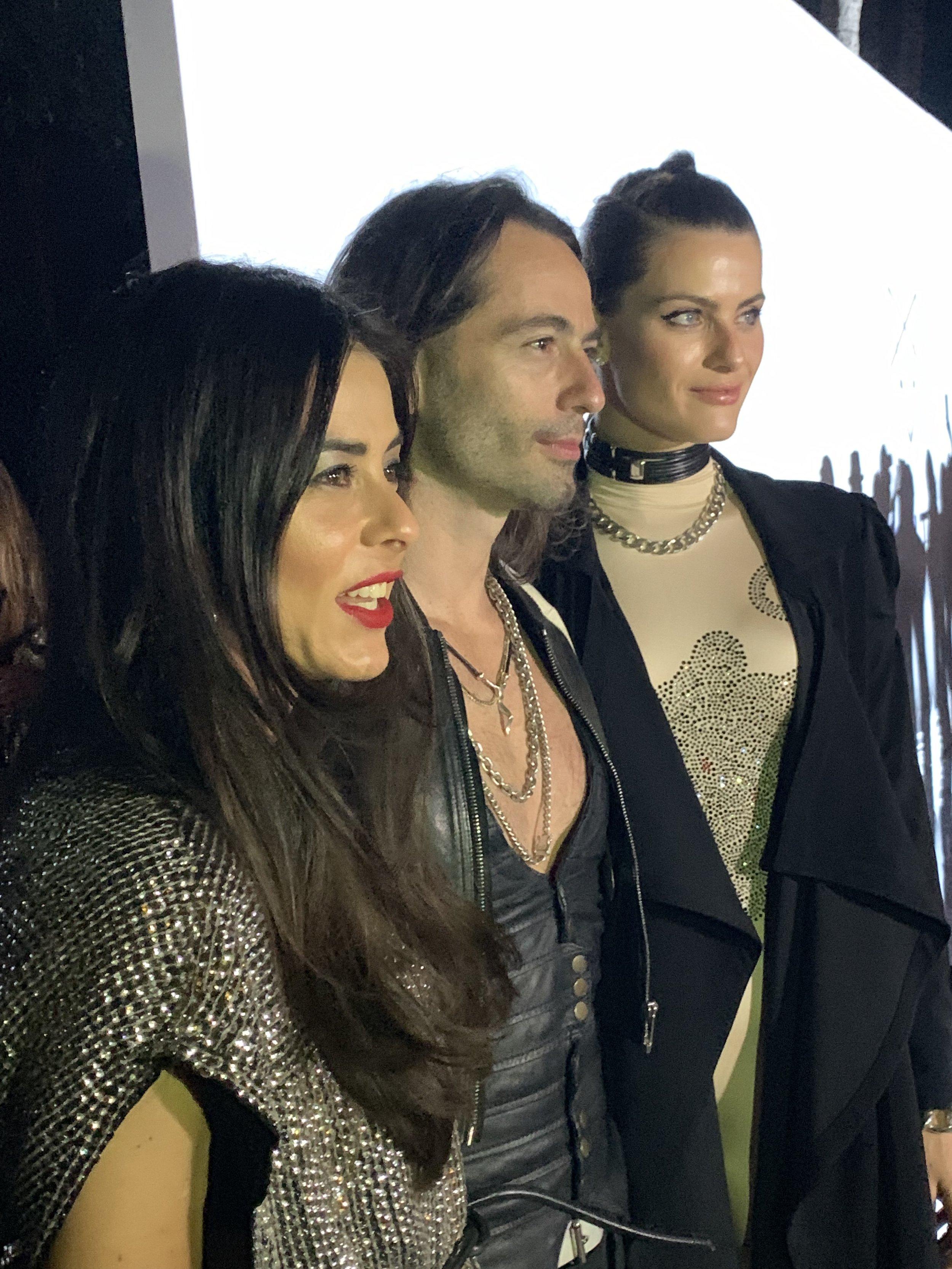 Marco Cavalleria and model Isabeli Fontana