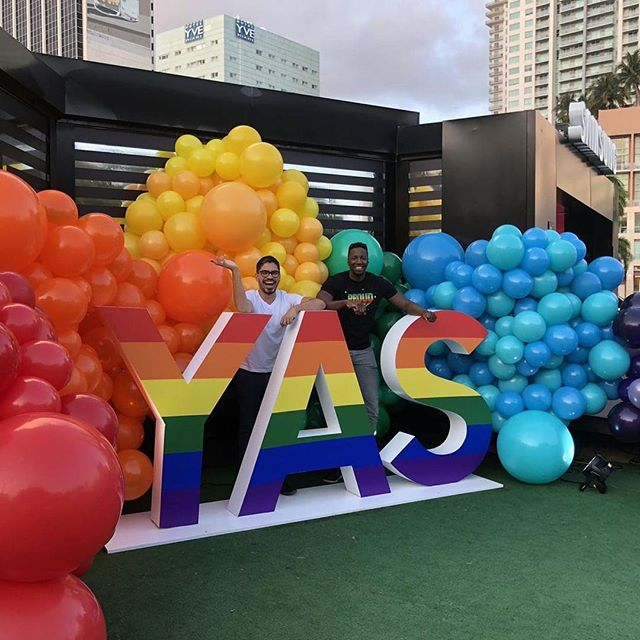 #Samsung is ready for #Pride2019! Come by the Samsung Experience installation at Bayfront Park Miami! #eventproduction #eventsmiami #miamievents #passiontranslated #weekends