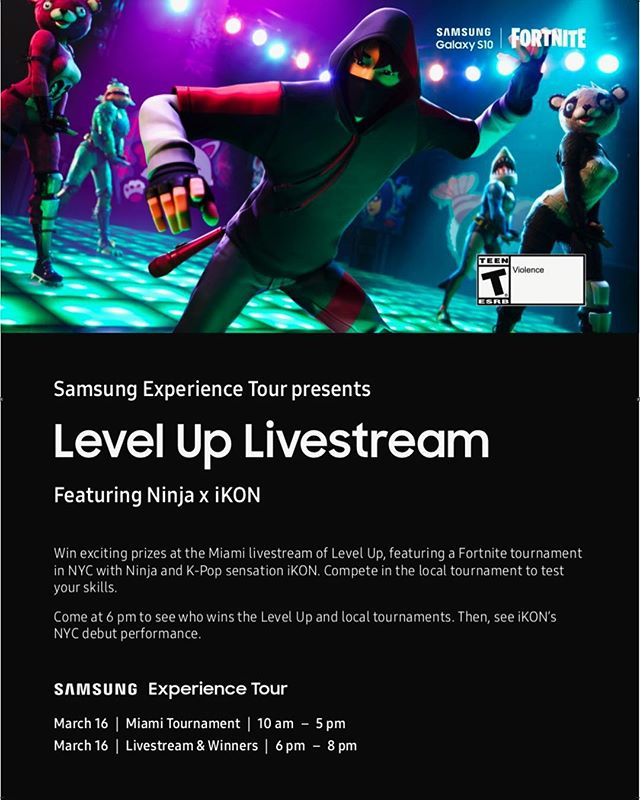 ACT is getting it's gaming on at the Samsung Experience Tour on Bayfront Park this weekend, what about all the gamers out there? @fortnite @samsungus #samsungexperiencetour #fortnite #esports #egamers #gaming #leveluplivestream #miamievents #passiontranslated
