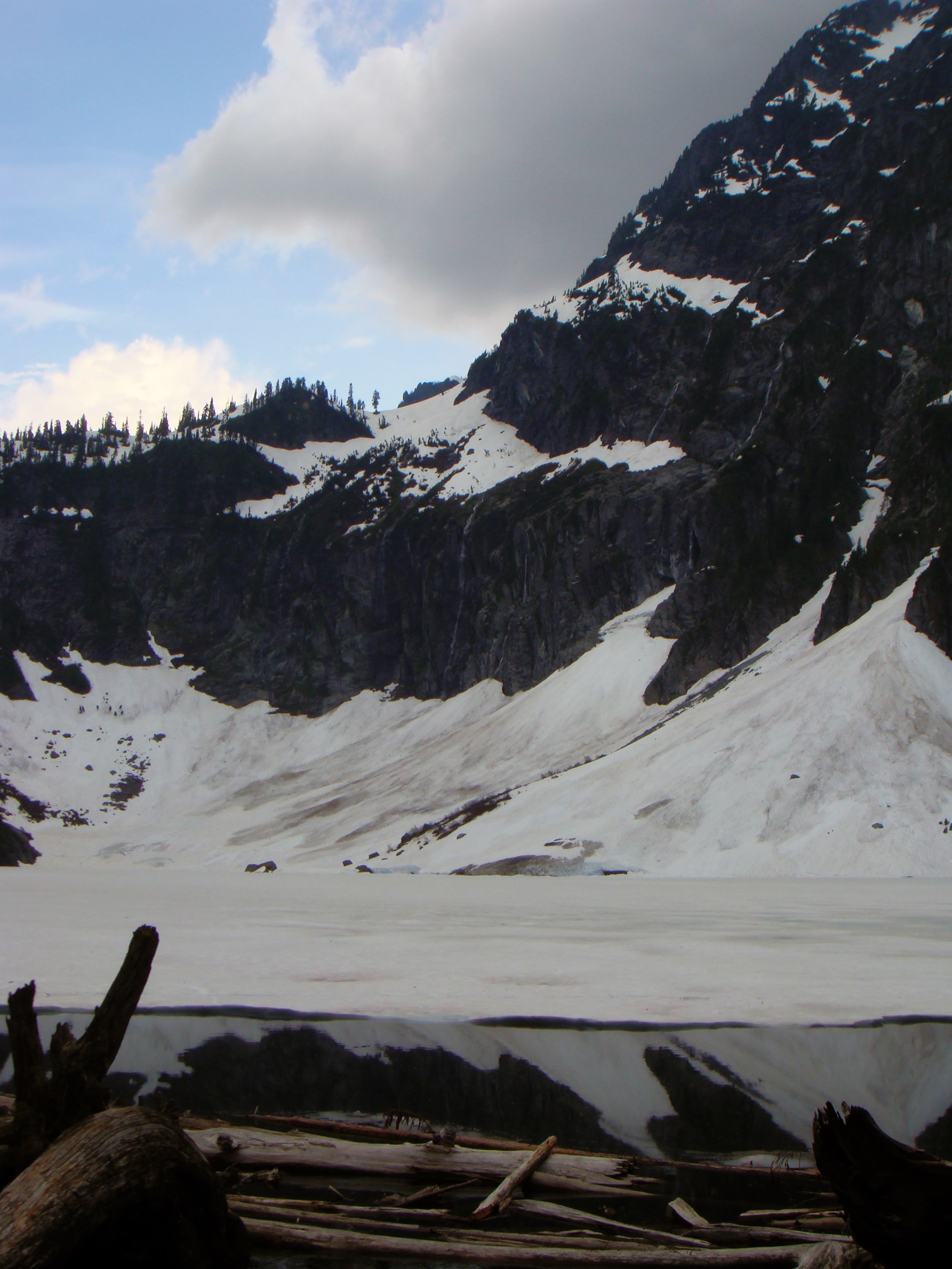 Snowy Lake Serene in 2009