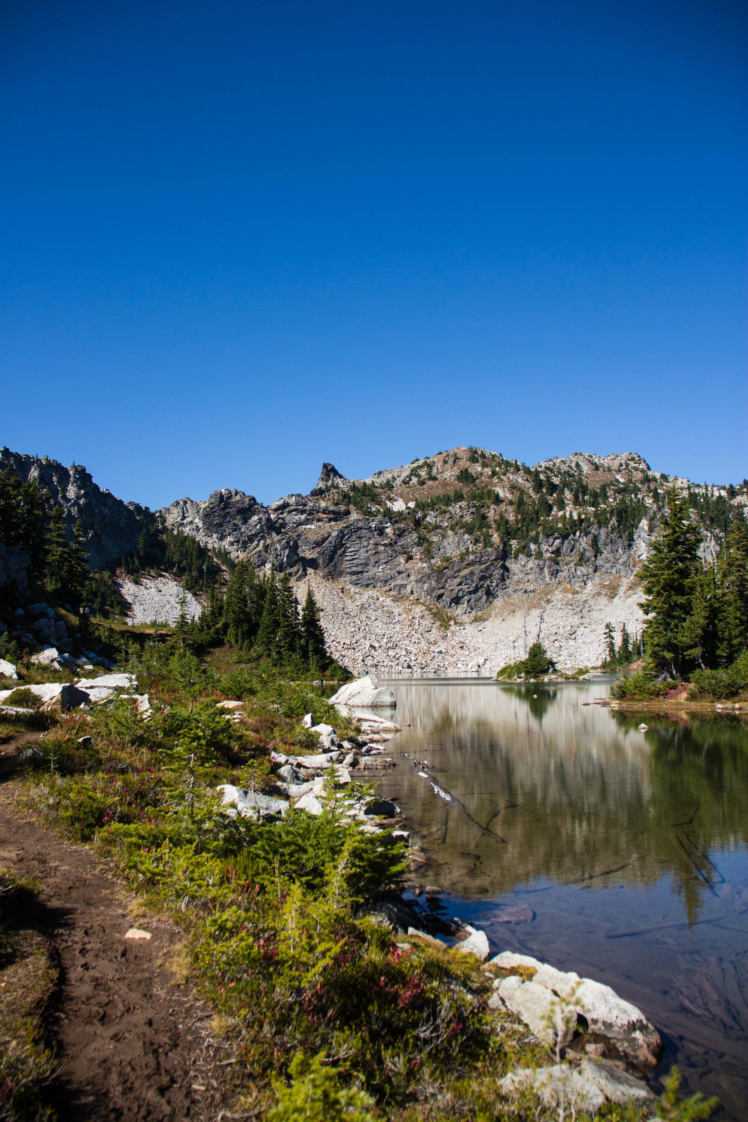 Minotaur Lake and Labryinth Mountain