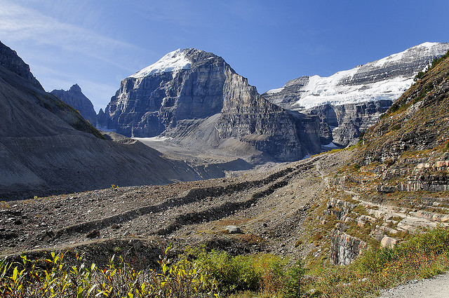 Plain of Six Glaciers - photo by  Hans J