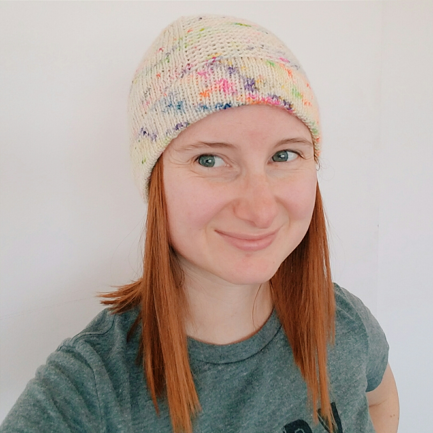 New backpacking hat finished, just in time for it to be way too hot to try it out!