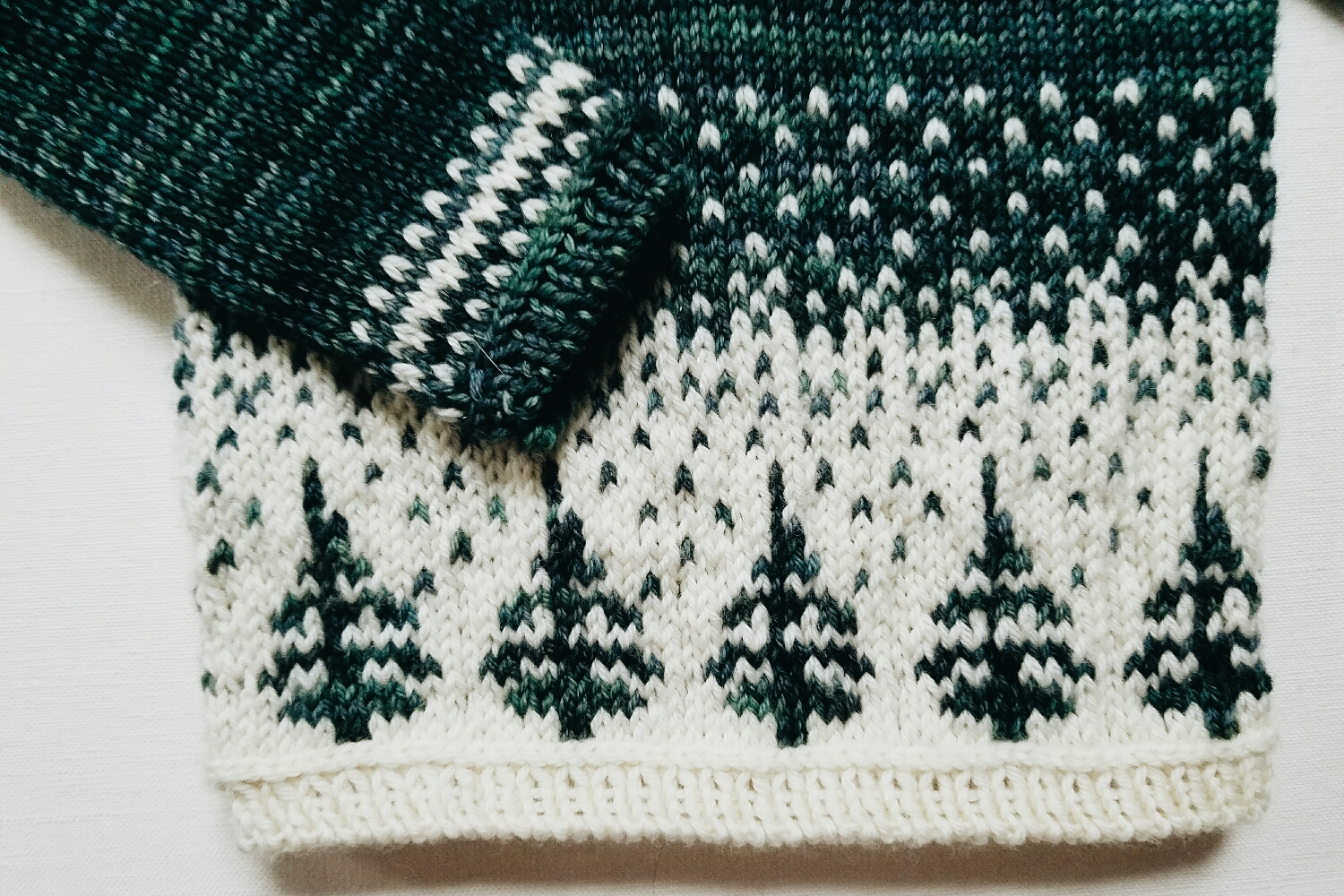 Details on one of my favorite knits project to date, started on Whidbey and finished this week.