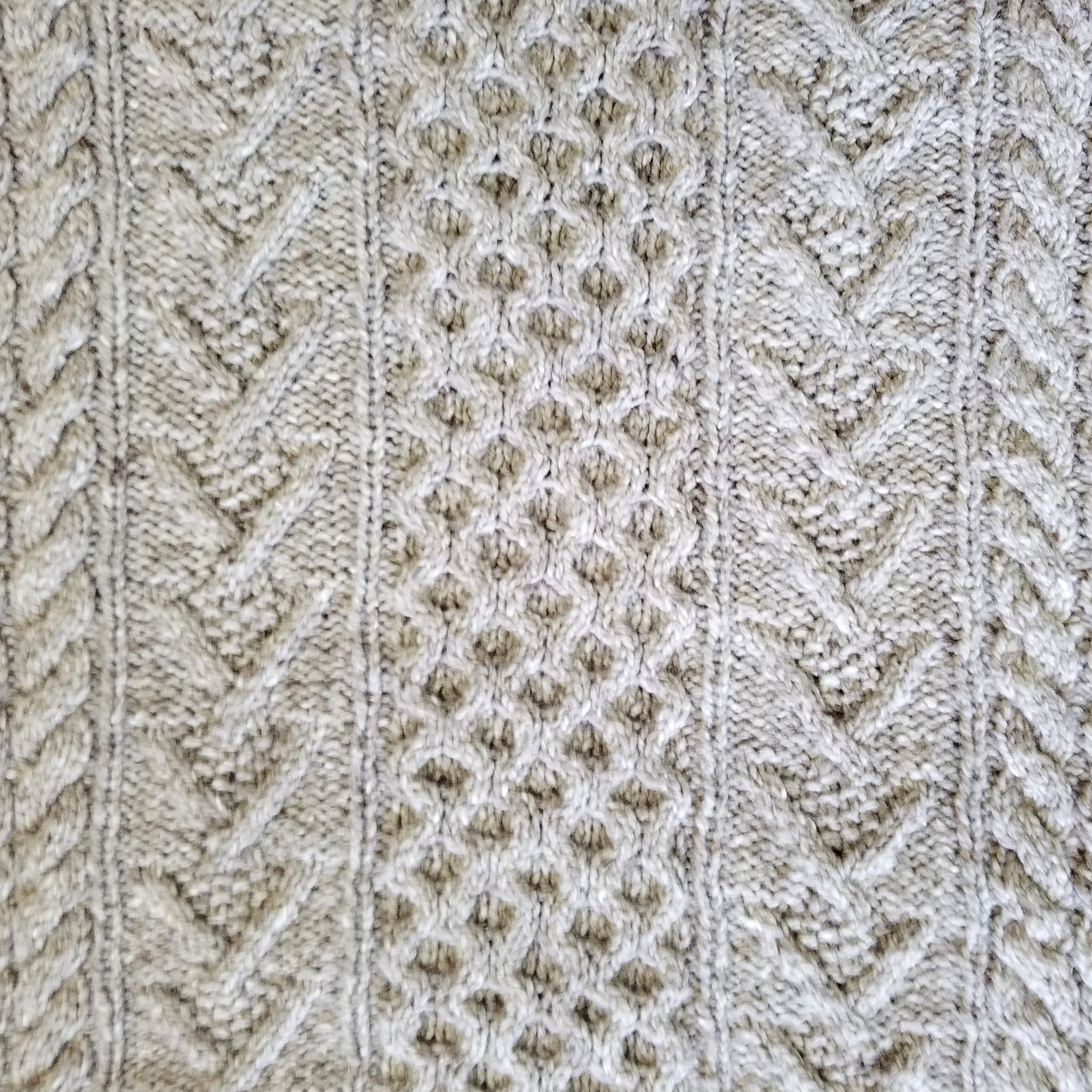 Details from my finished sweater. I've already worn this at least half a dozen times since finishing it last week!