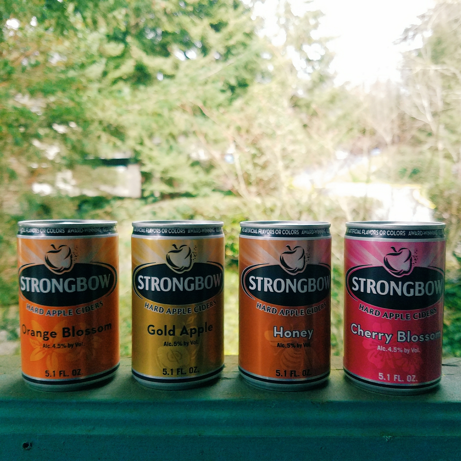 Andy found this adorable 4-pack of spring ciders! The cherry blossom tasted like cough syrup, but the other were all lovely.
