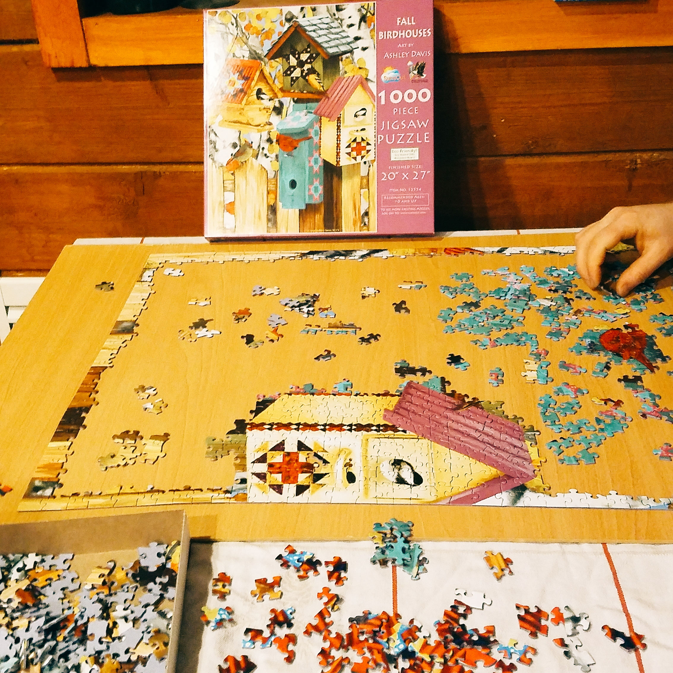 Late night puzzles - very hygge!