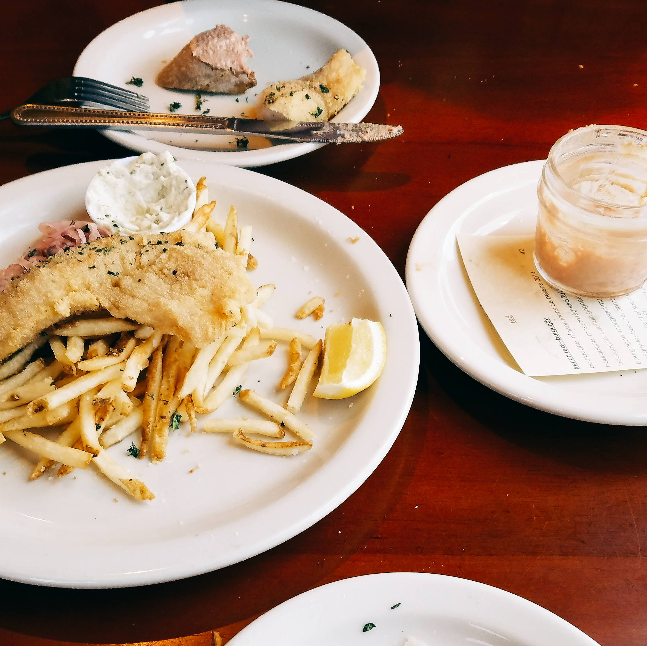 Fish frites, the French alternative to fish & chips