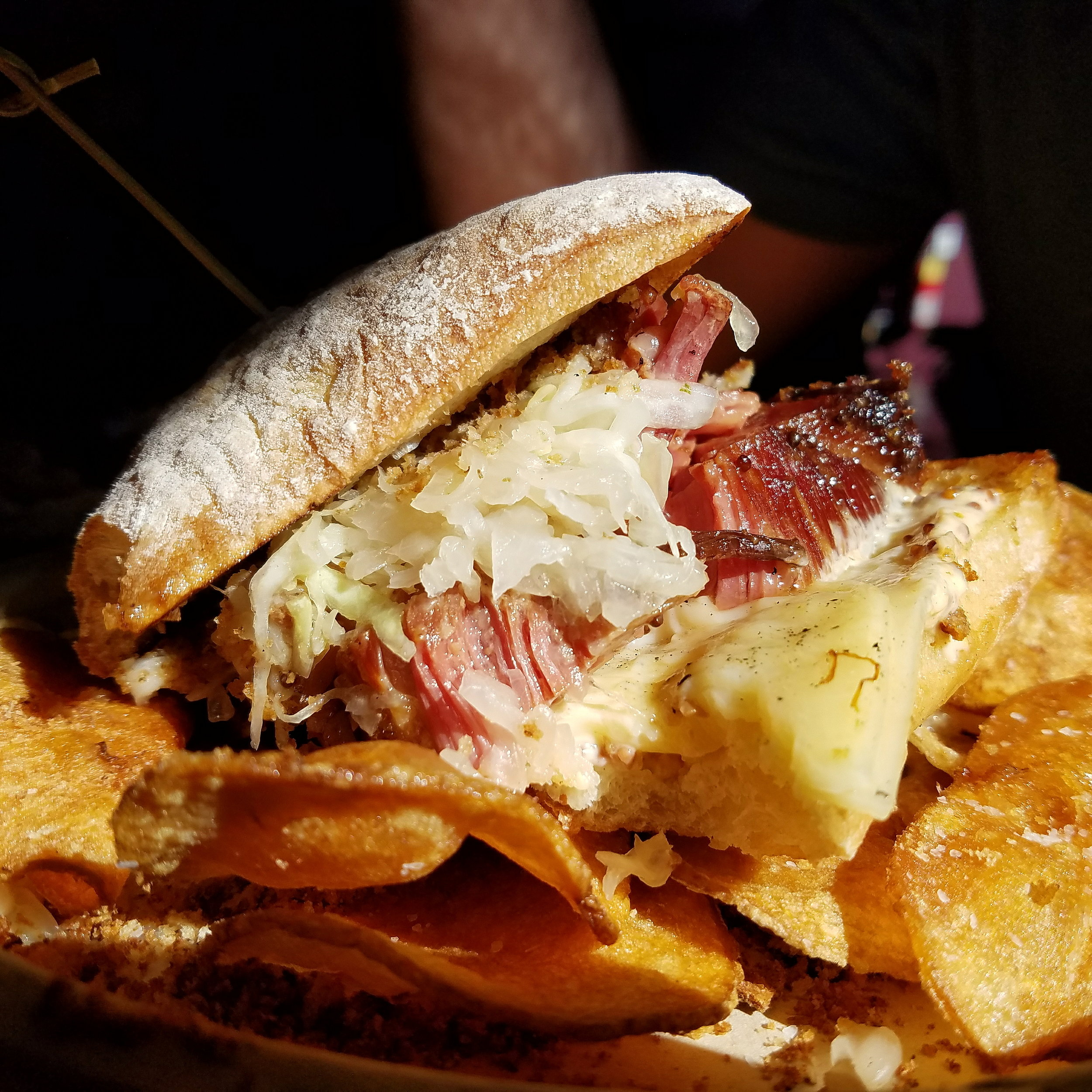 Definitely the best corned beef sandwich EVER