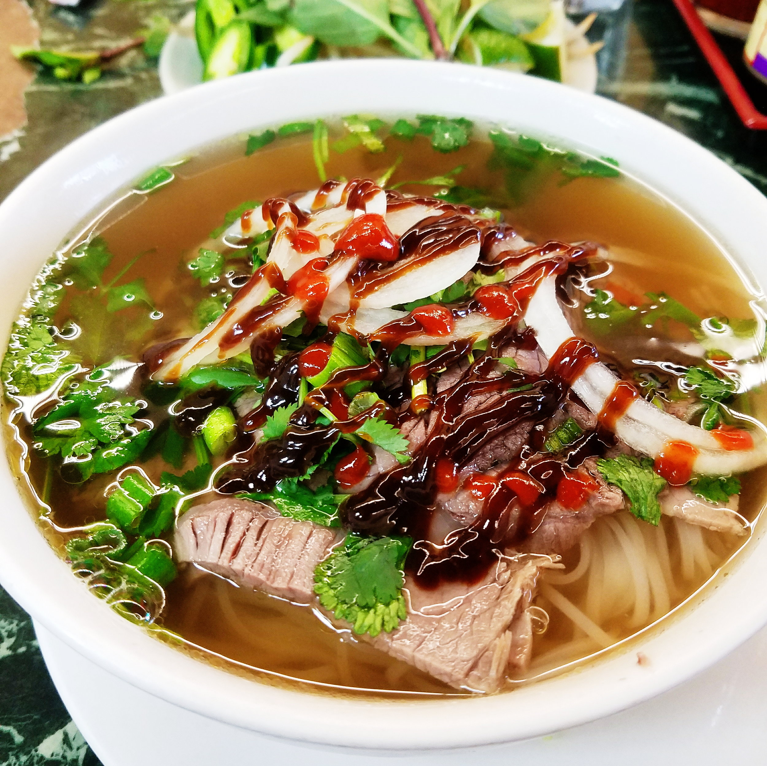 ...and pho are the perfect cure!