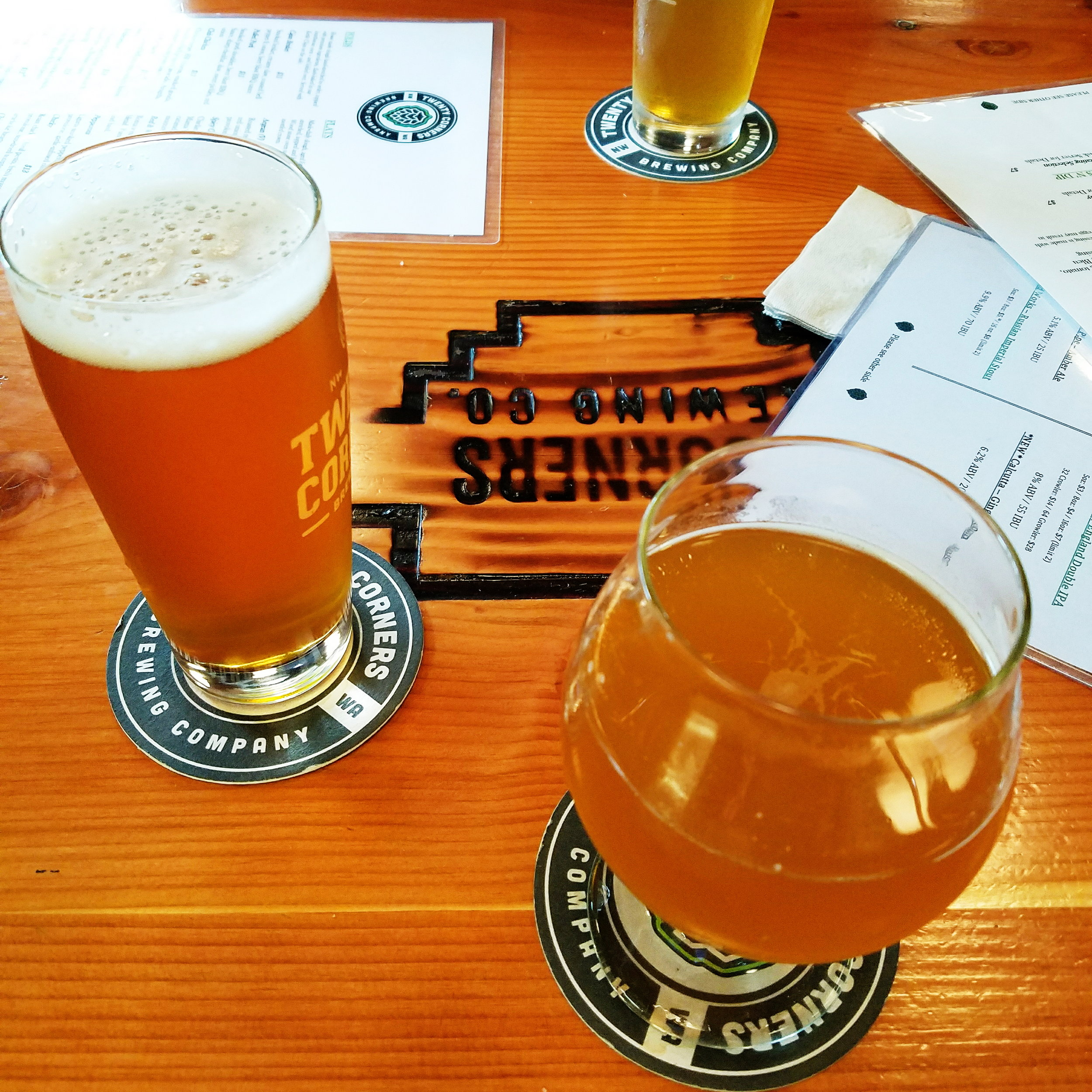 Post-hike beers and one of our favorite new breweries.Who am I kidding... they're all our favorite!