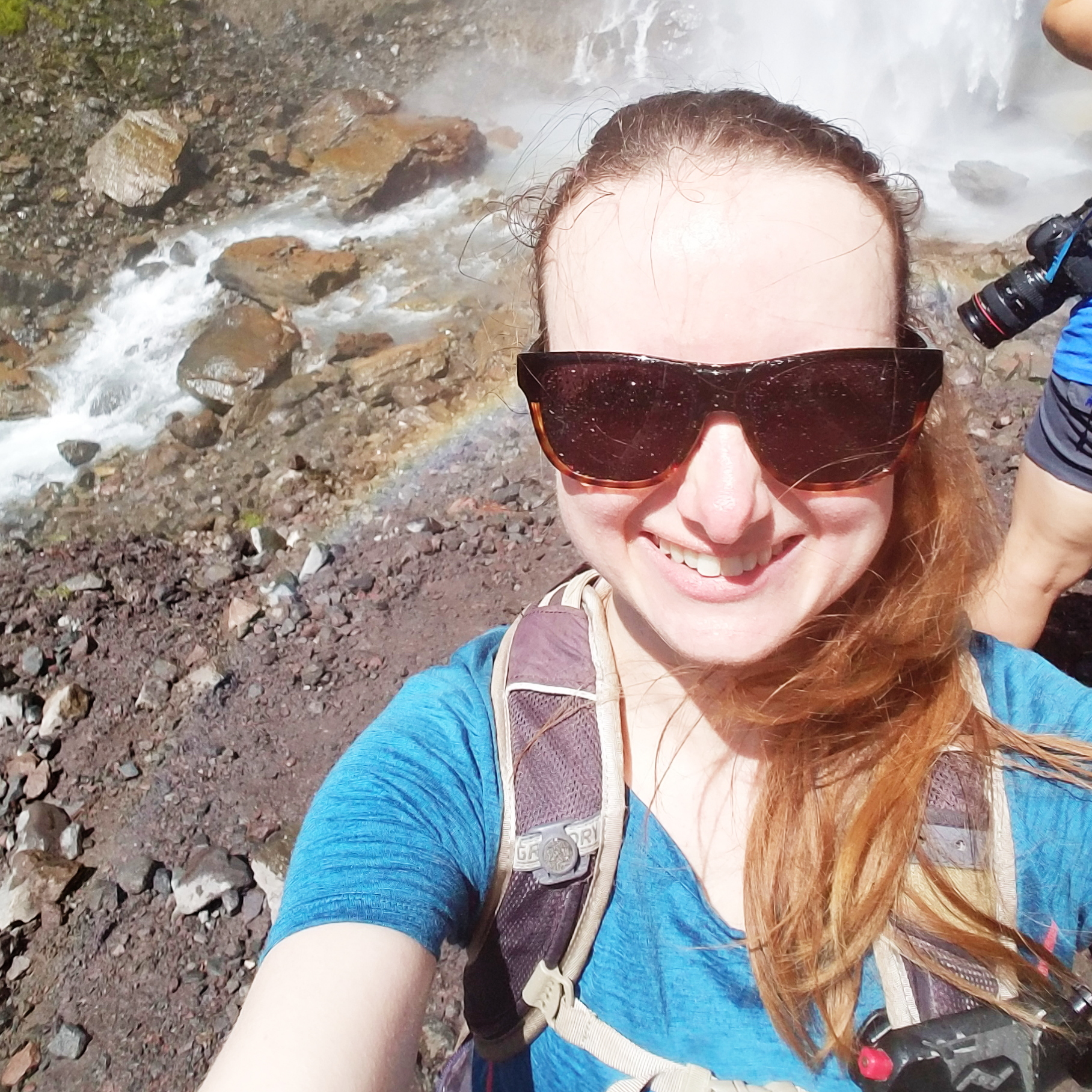 Tried to take a selfie with the falls. Failed miserably. Too happy to care!
