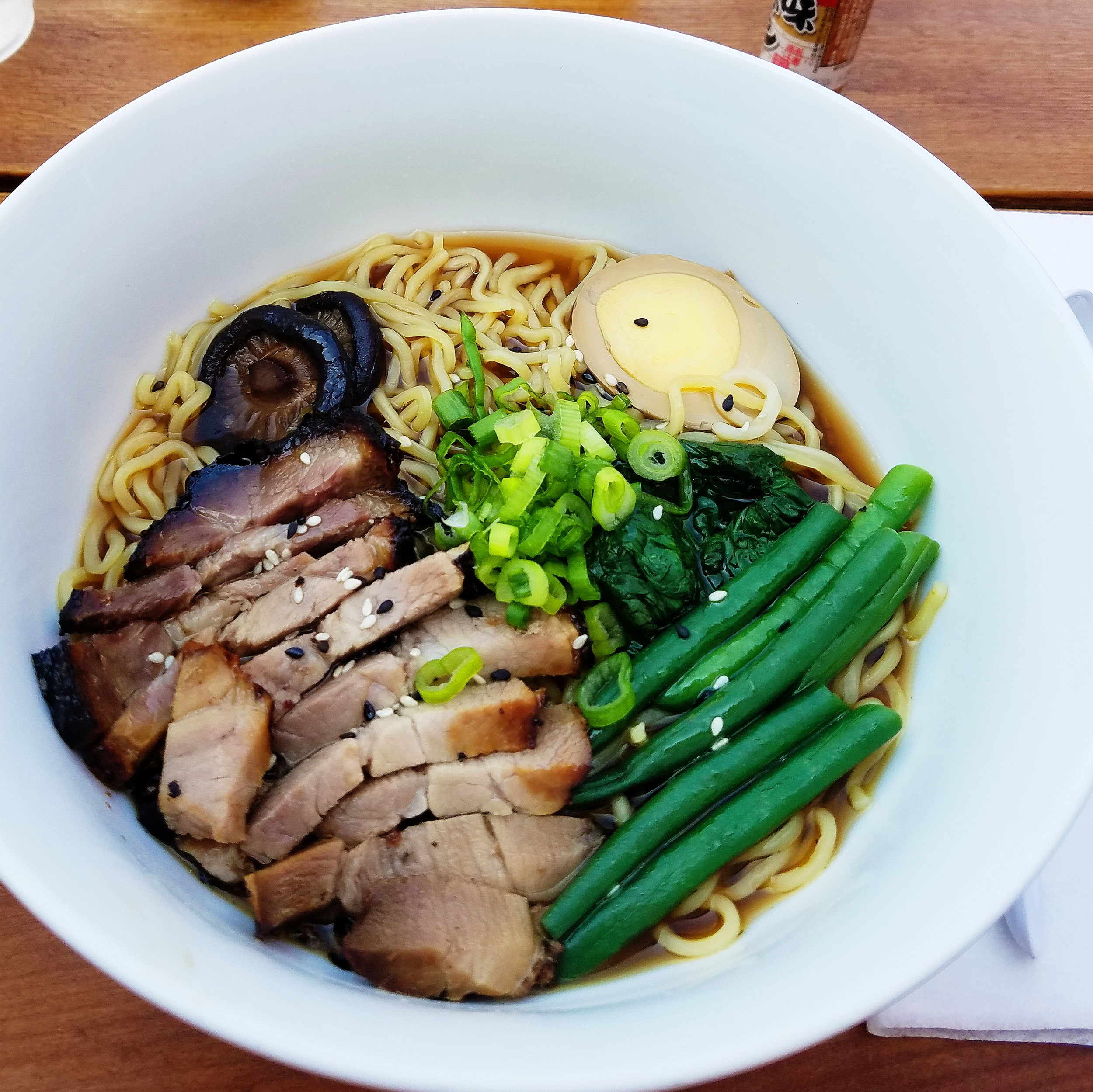 It's never too hot for ramen, especially when it's this delicious