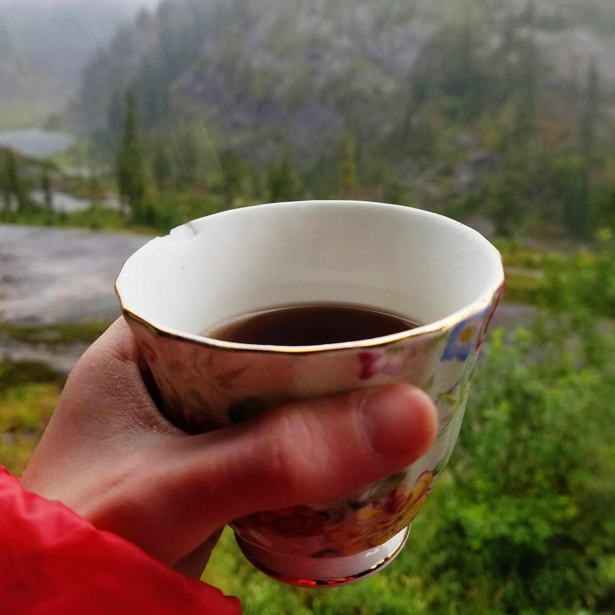 Tea on the trail